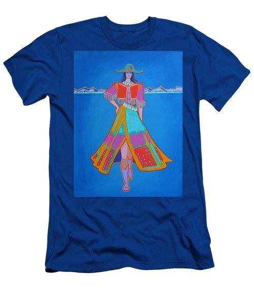Santa Fe Girl  Men's T-Shirt (Athletic Fit)