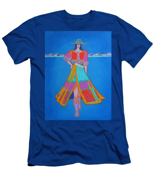 Santa Fe Girl  Men's T-Shirt (Athletic Fit)