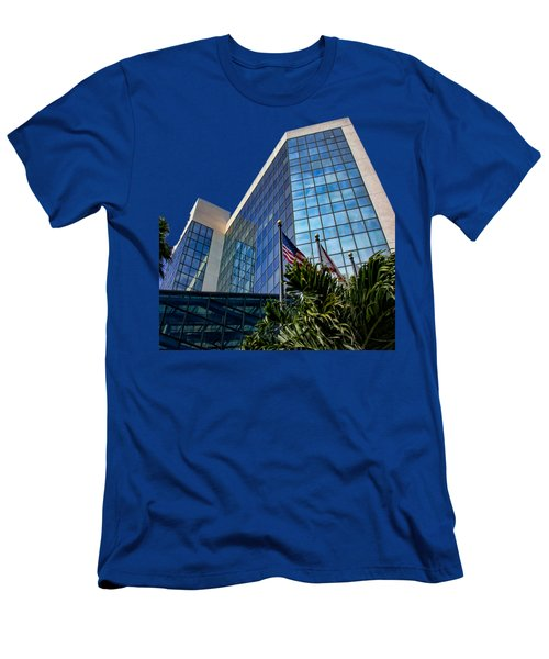 Sarasota Architecture Glass Transparency Men's T-Shirt (Athletic Fit)