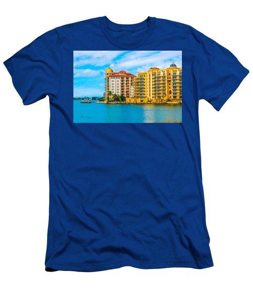 Sarasota Architecture Men's T-Shirt (Athletic Fit)
