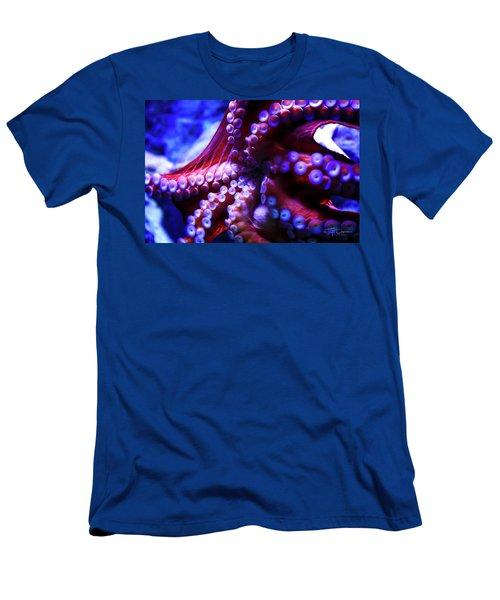 Scarlet Below Men's T-Shirt (Athletic Fit)