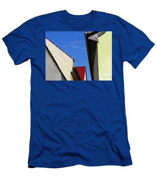 Schierstein Geometrics Men's T-Shirt (Slim Fit) by Sarah Loft