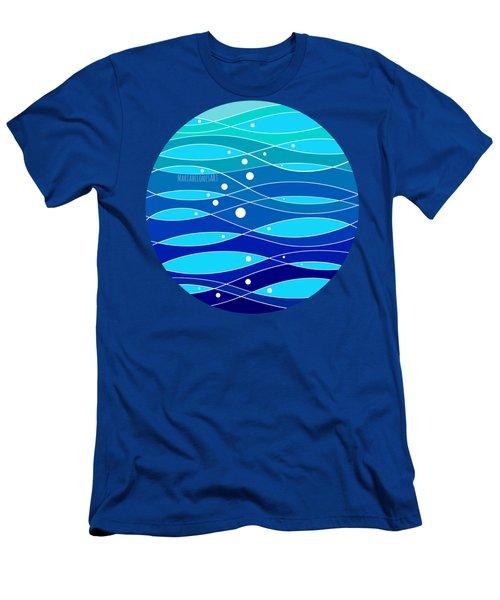 School Fish I Men's T-Shirt (Athletic Fit)