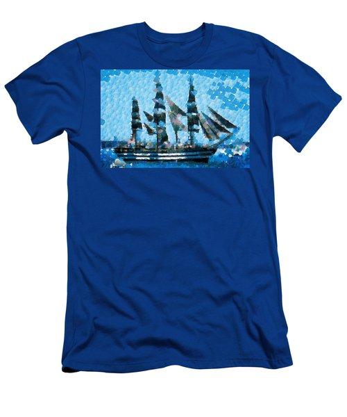 Schooner Supreme Men's T-Shirt (Athletic Fit)