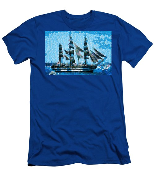 Schooner Supreme Men's T-Shirt (Athletic Fit)