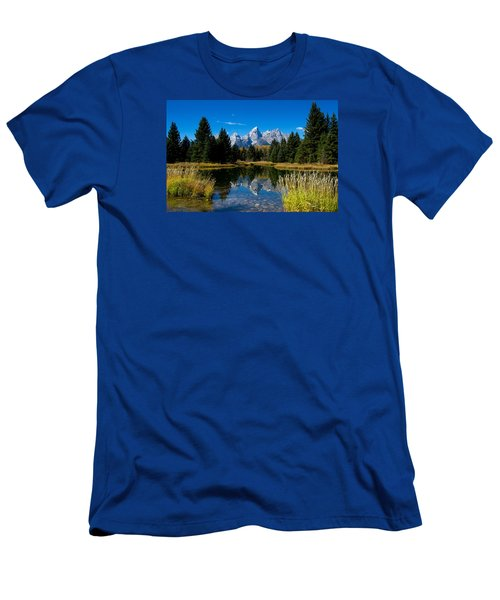 Schwabacher Landing Reflection Men's T-Shirt (Athletic Fit)