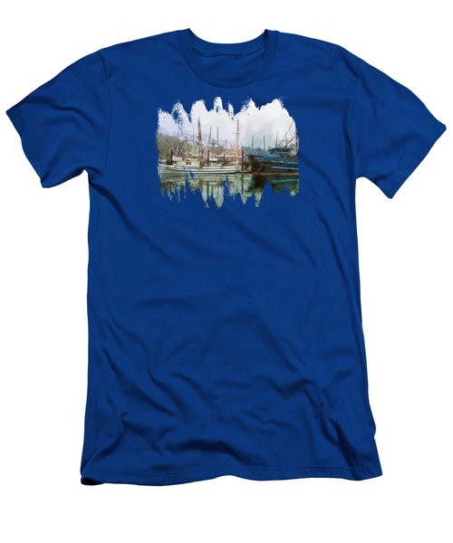 Sea Breeze And Lady Law Men's T-Shirt (Athletic Fit)