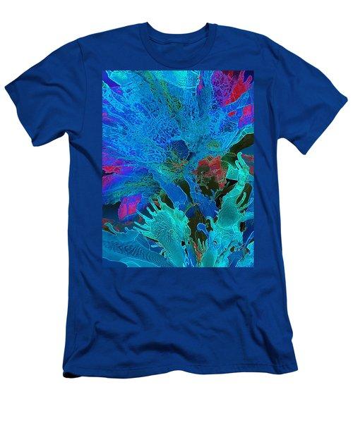 Sea Flower Men's T-Shirt (Athletic Fit)