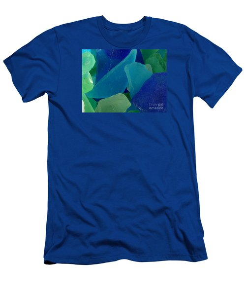 Men's T-Shirt (Slim Fit) featuring the photograph Sea Glass by Chad and Stacey Hall