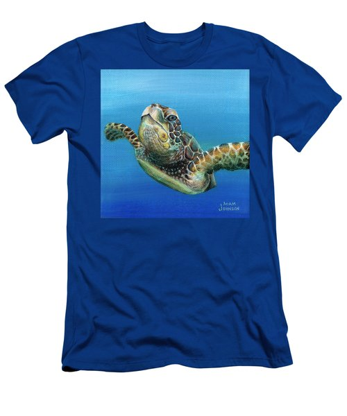 Sea Turtle 3 Of 3 Men's T-Shirt (Athletic Fit)