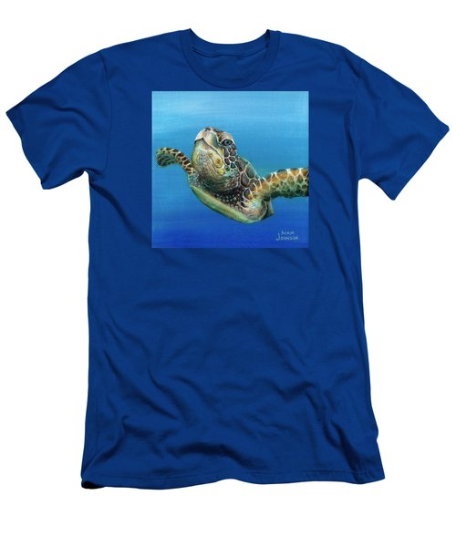 Sea Turtle 3 Of 3 Men's T-Shirt (Athletic Fit)