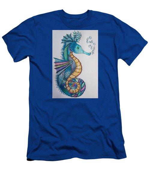 Seahorse Series 5 Men's T-Shirt (Slim Fit) by Megan Walsh