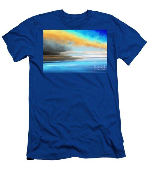 Seascape Painting Men's T-Shirt (Athletic Fit)