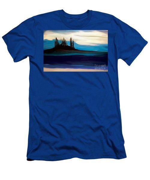 Seascape Men's T-Shirt (Athletic Fit)