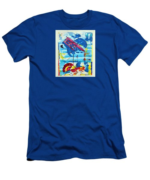 Seashore Holiday Men's T-Shirt (Athletic Fit)