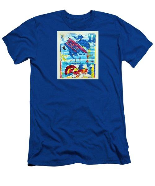 Seashore Holiday Men's T-Shirt (Athletic Fit)