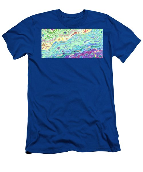 Seashore Men's T-Shirt (Athletic Fit)