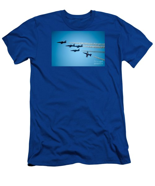 Seasoned Pilots Perform Men's T-Shirt (Athletic Fit)