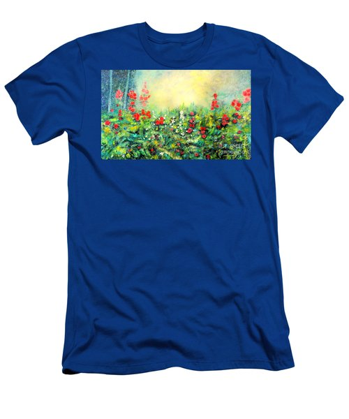 Secret Garden 2 - 150x90 Cm Men's T-Shirt (Athletic Fit)