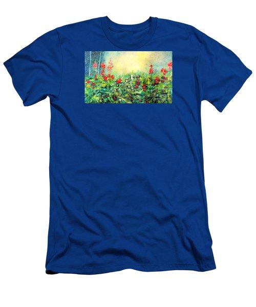 Secret Garden 2 - 150x90 Cm Men's T-Shirt (Athletic Fit)