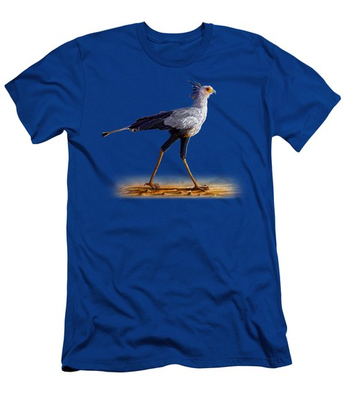 Secretary Bird Men's T-Shirt (Athletic Fit)