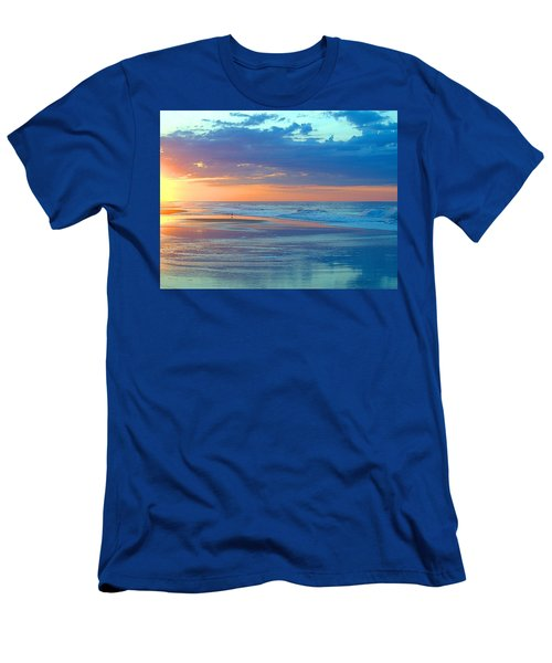 Men's T-Shirt (Slim Fit) featuring the photograph Serenity by  Newwwman
