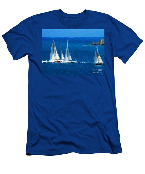 Set Sail Men's T-Shirt (Athletic Fit)