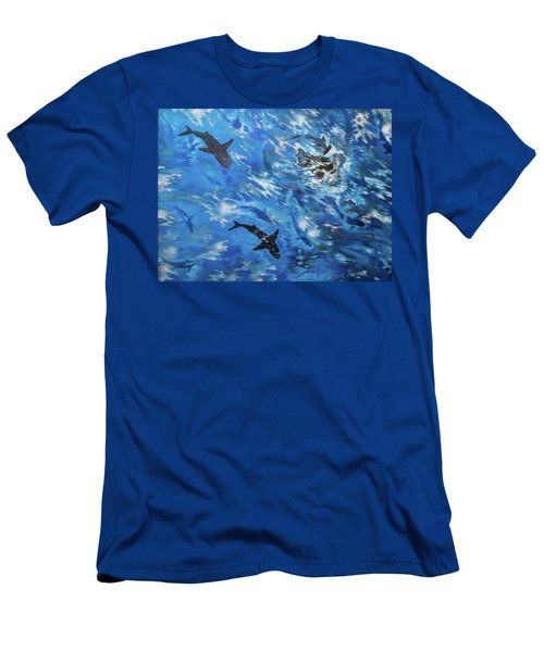 Sharks#3 Men's T-Shirt (Athletic Fit)