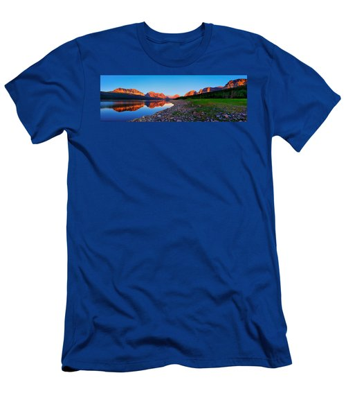 Sherburne Shore Sunrise Panorama Men's T-Shirt (Slim Fit) by Greg Norrell