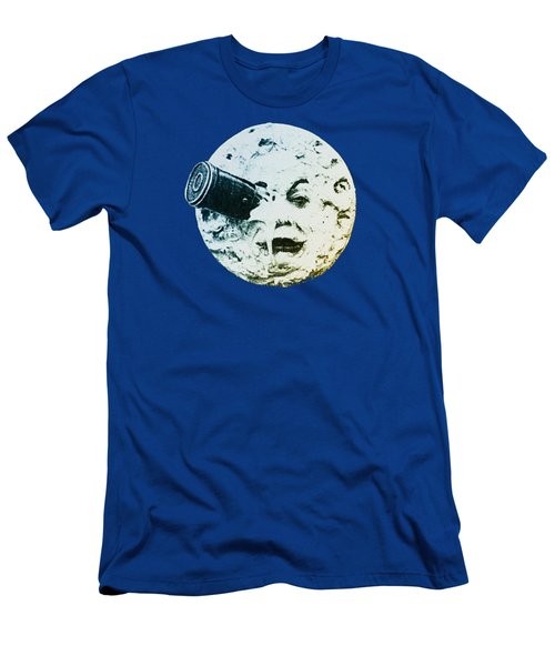 Shoot The Moon Men's T-Shirt (Athletic Fit)