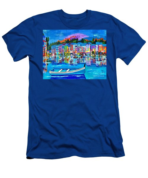 Shores Of Italy Men's T-Shirt (Athletic Fit)