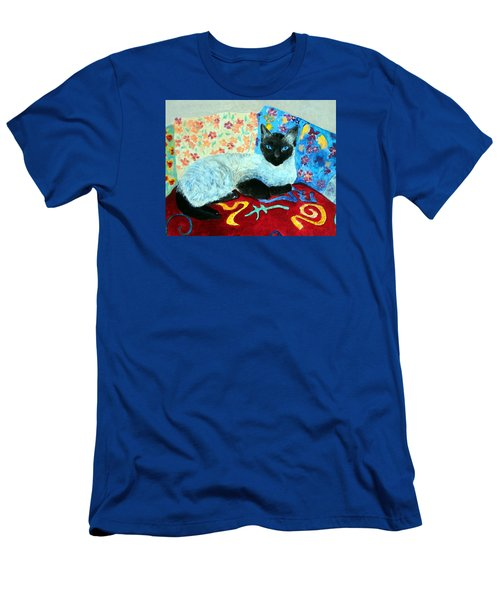 Siamese Cat Men's T-Shirt (Athletic Fit)