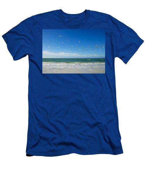 Siesta Key Men's T-Shirt (Athletic Fit)