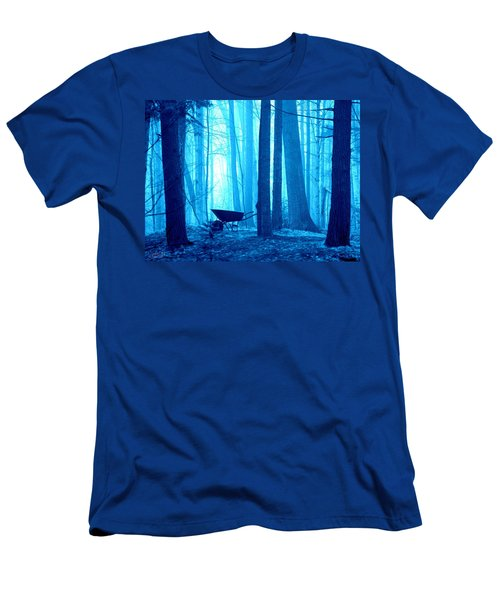 Men's T-Shirt (Slim Fit) featuring the photograph Silent Forest by Al Fritz