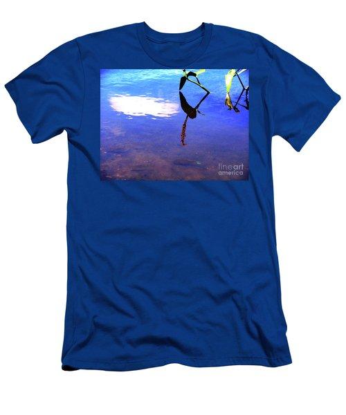 Silhouette Aquatic Fish Men's T-Shirt (Athletic Fit)