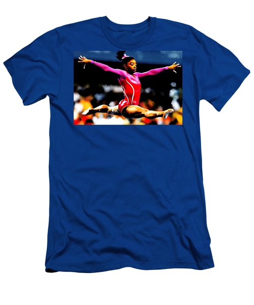 Simone Biles Men's T-Shirt (Athletic Fit)