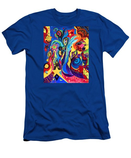 Guardian Angel Men's T-Shirt (Slim Fit) by Marina Petro