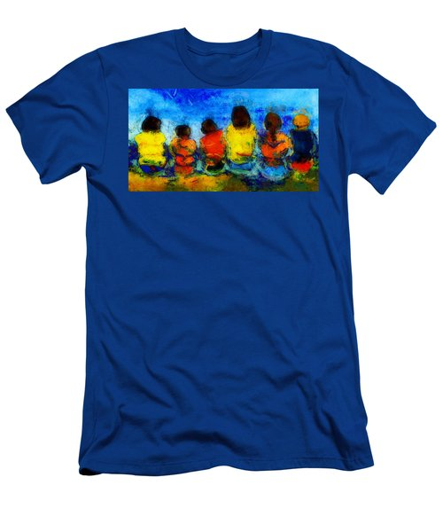 Six On The Shore  Men's T-Shirt (Athletic Fit)