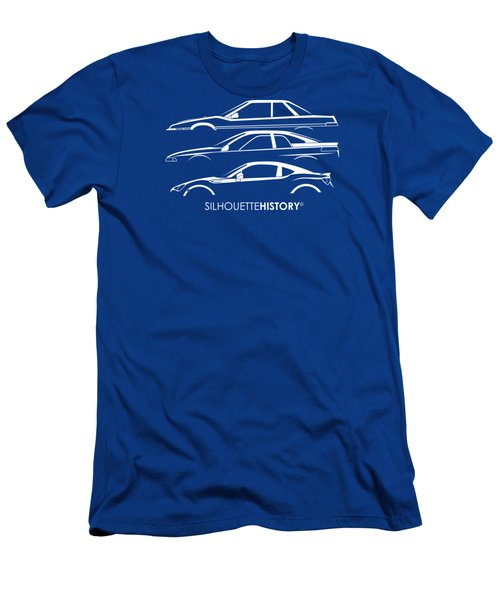 Six Stars Sports Coupe Silhouettehistory Men's T-Shirt (Athletic Fit)