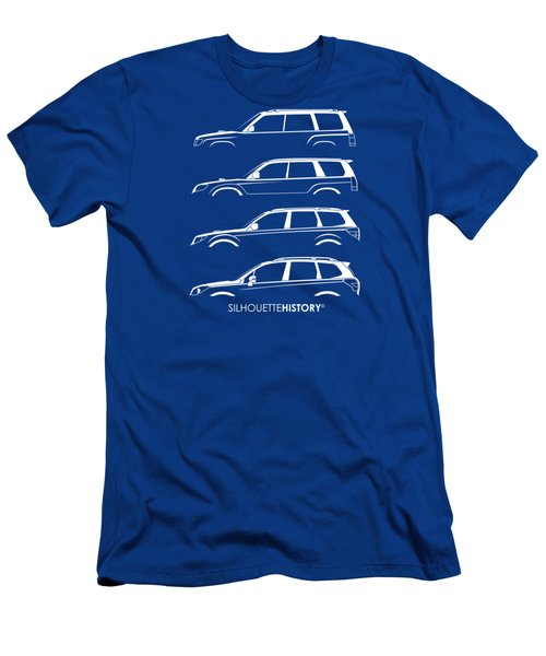 Six Stars Suv Silhouettehistory Men's T-Shirt (Athletic Fit)