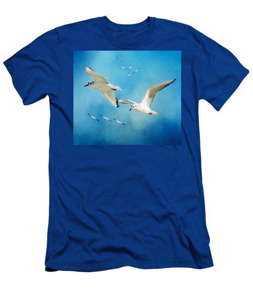 Sky High Flight Men's T-Shirt (Athletic Fit)