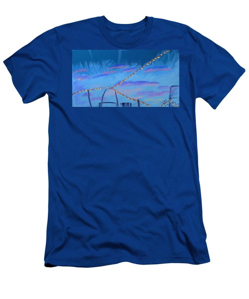 Sky Lights Men's T-Shirt (Athletic Fit)