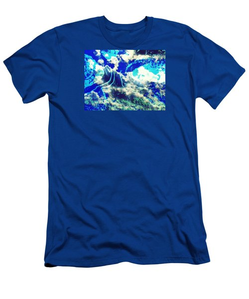 Sky Tree Fantasy Men's T-Shirt (Athletic Fit)