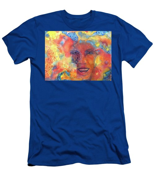 Smiling Muse No. 2 Men's T-Shirt (Athletic Fit)