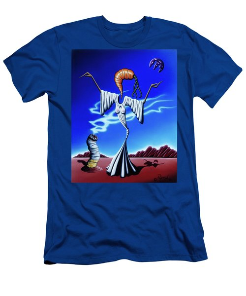 Smoke Dance Men's T-Shirt (Athletic Fit)