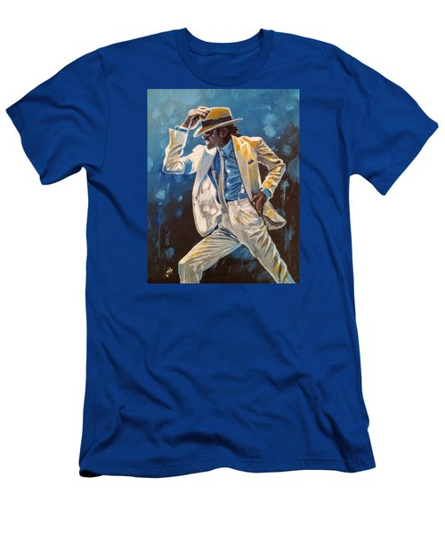 Men's T-Shirt (Athletic Fit) featuring the painting Smooth Criminal by Jennifer Hotai