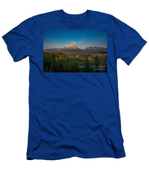 Snake River Sunrise Men's T-Shirt (Athletic Fit)