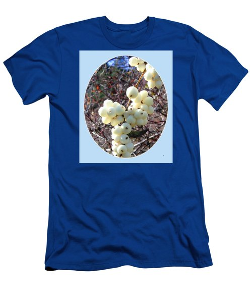Men's T-Shirt (Slim Fit) featuring the photograph Snowberry Cluster by Will Borden