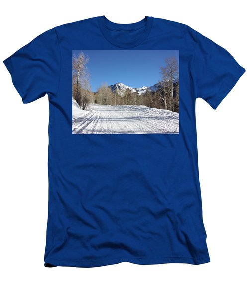 Snowy Aspen Men's T-Shirt (Athletic Fit)