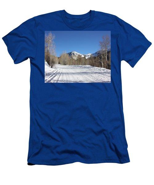 Snowy Aspen Men's T-Shirt (Athletic Fit)